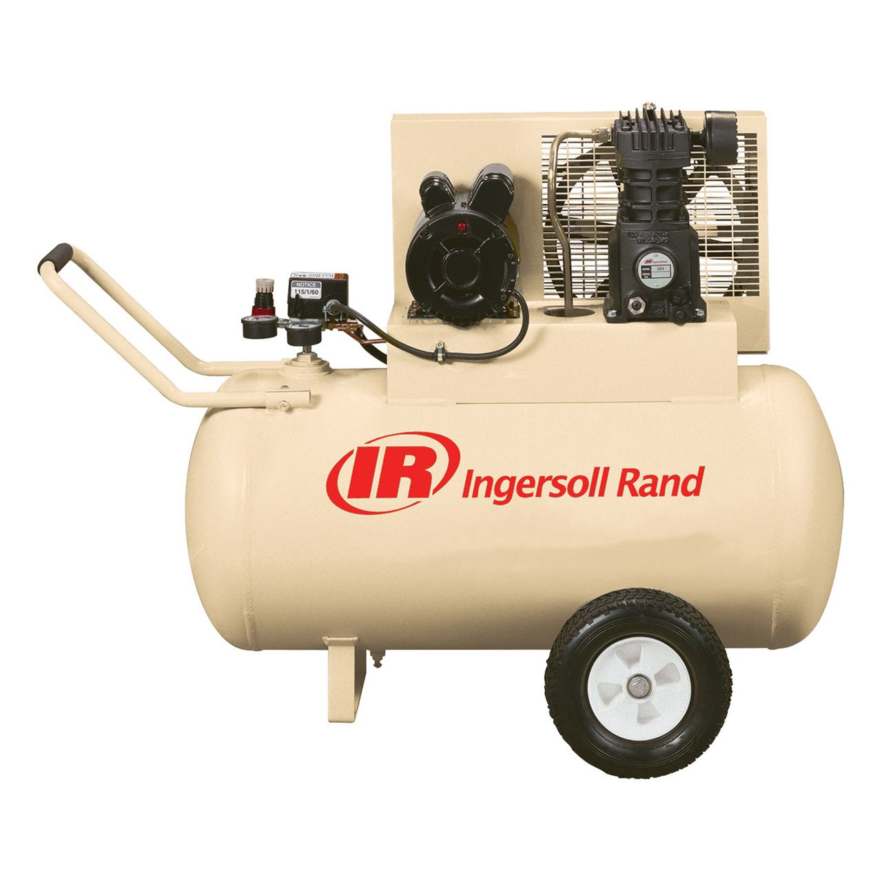 Ingersoll Rand Ss3F2-Gm 2 Hp 30 Gal Horizontal Air Compressor