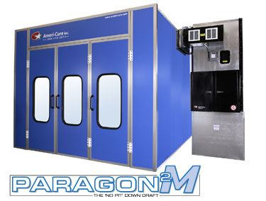 Ameri-Cure Paragon 2M Fully Enclosed Spray Booth