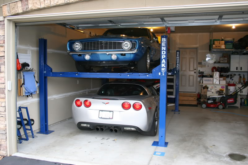 What does it cost to put a lift in your garage jmc for 1 car garage cost