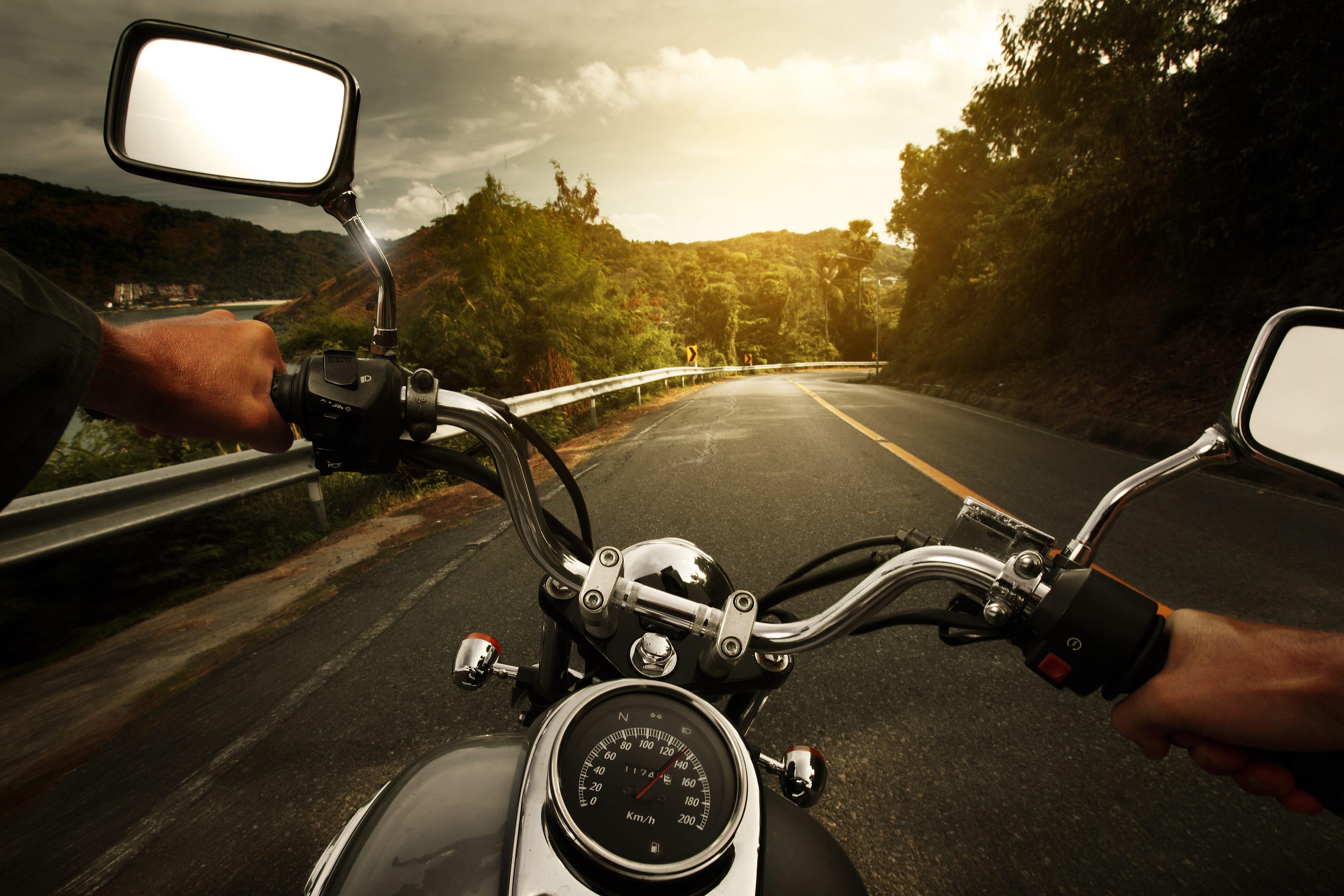 American Bikers Ride For Fun