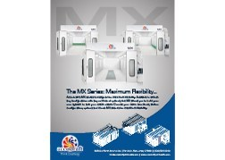 Accudraft MX Series Paint Booths Brochure Specs