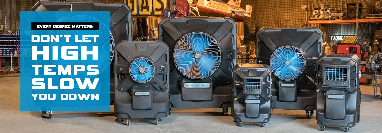Portable Portable evaporative coolers