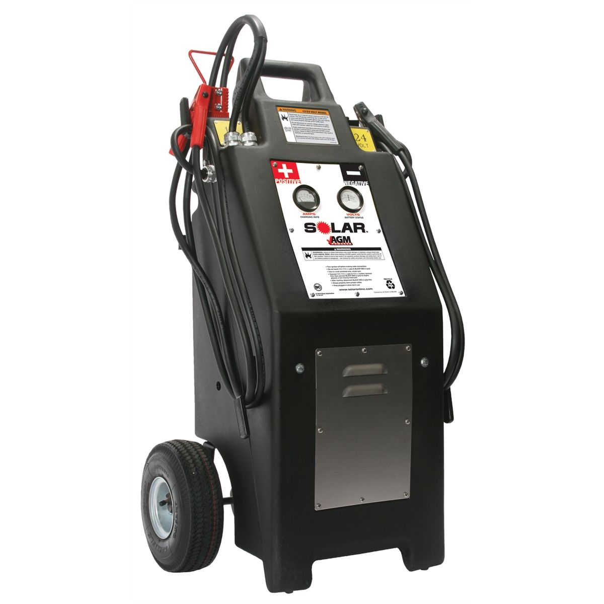 Booster Pac HT1224 12/24 Volt Commercial Charger/Starter with AGM Batteries