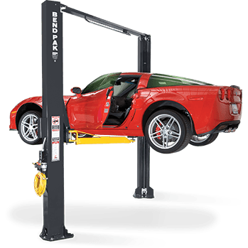 Bendpak Xpr-10As-168 10,000 Lbs. Extra Tall Clear Floor Asymmetric 2 Post Car Lift